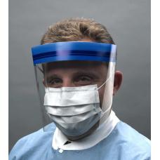 Одноразовые расходные материалы - Маска-щиток защитные на резинке из пластмассы CROSSTEX Кростекс 1шт.